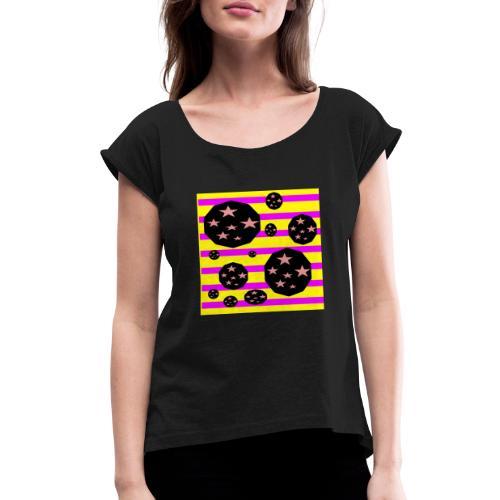 Lovely Astronomy - Women's Roll Cuff T-Shirt