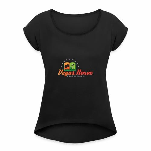 b17471_VEGAS_LOGO_NP_2 - Women's Roll Cuff T-Shirt