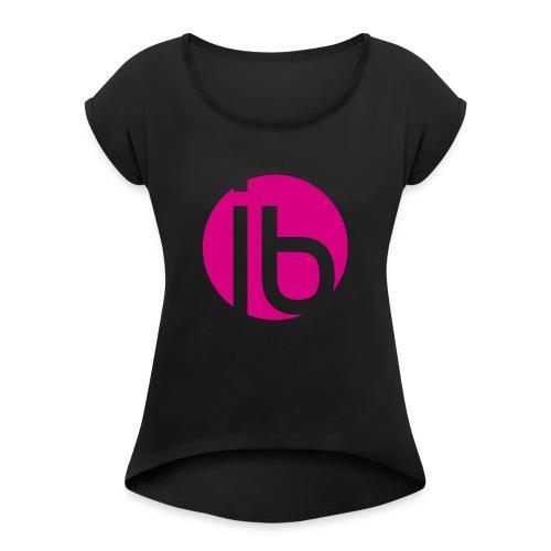logo_isabelleBrunet - Women's Roll Cuff T-Shirt