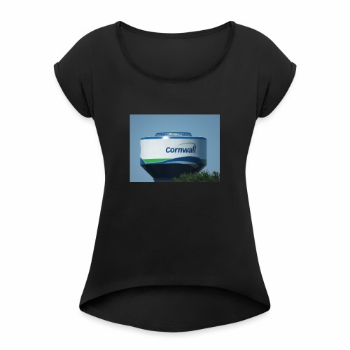 The Cornwall Water Tower Collection - Women's Roll Cuff T-Shirt