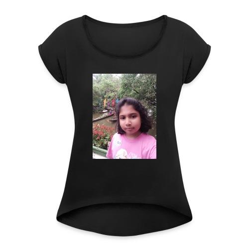 Tanisha - Women's Roll Cuff T-Shirt