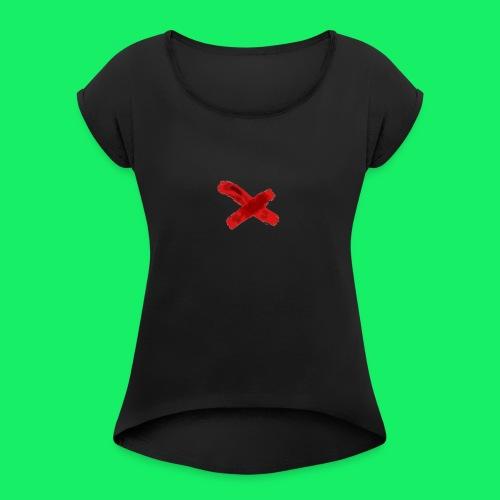 original logo - Women's Roll Cuff T-Shirt