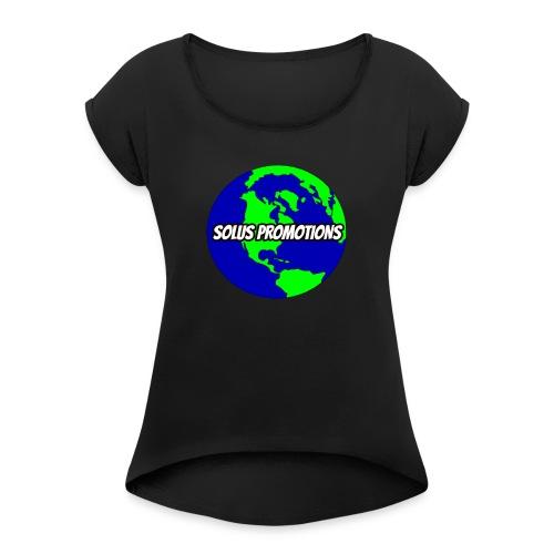 Solus Merch! - Women's Roll Cuff T-Shirt
