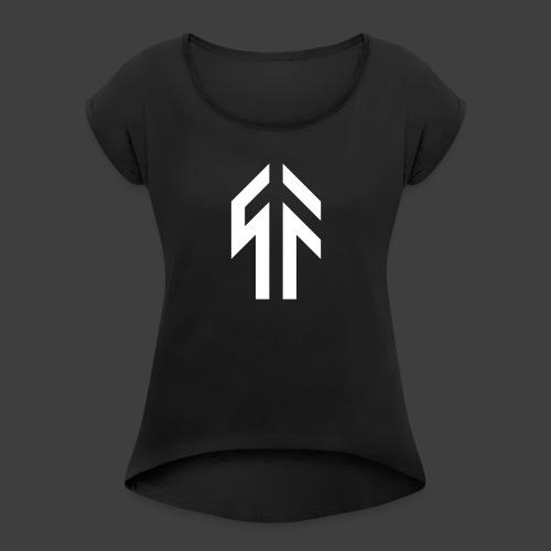 SwingFall - Women's Roll Cuff T-Shirt