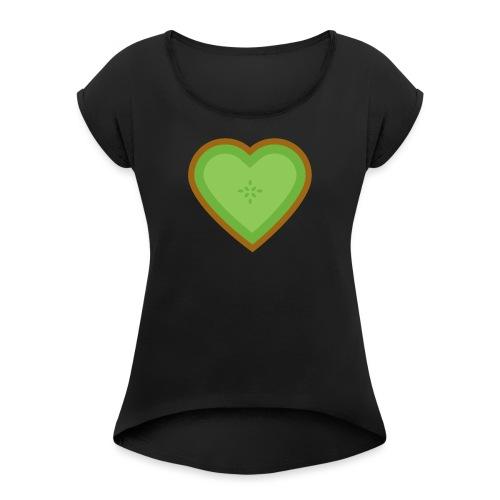 Fruit Love - Women's Roll Cuff T-Shirt
