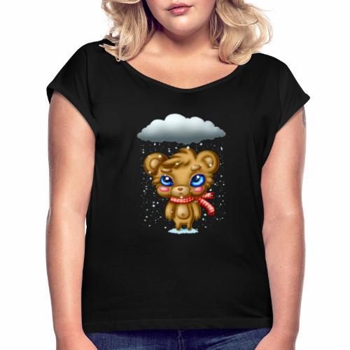 Bah Humbug - Women's Roll Cuff T-Shirt