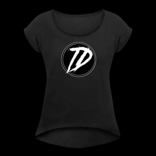 Team DEBUG Logo - Women's Roll Cuff T-Shirt