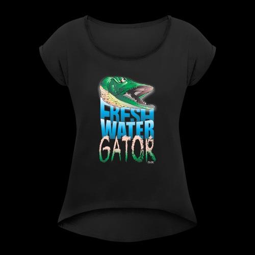 Gator - Women's Roll Cuff T-Shirt