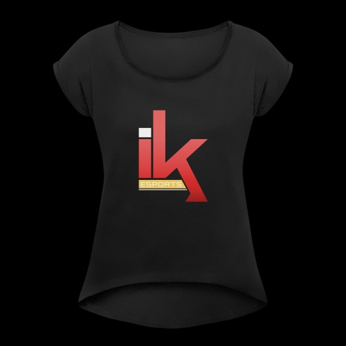 iKronic eSport Red - Women's Roll Cuff T-Shirt