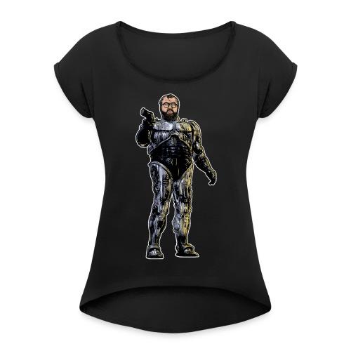 JorgeCop - Women's Roll Cuff T-Shirt