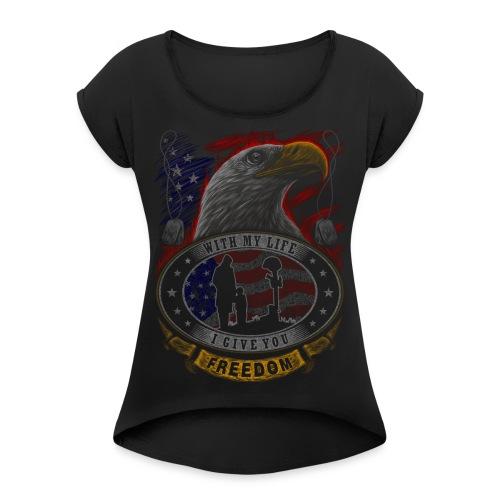 eagle7 - Women's Roll Cuff T-Shirt