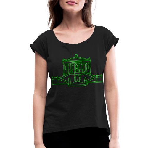 Nationalgalerie Berlin - Women's Roll Cuff T-Shirt