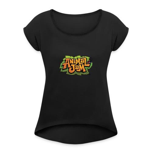 Animal Jam Shirt - Women's Roll Cuff T-Shirt