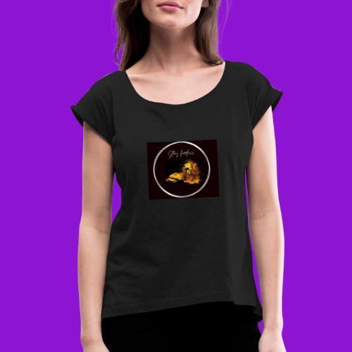Monzi fearless collection - Women's Roll Cuff T-Shirt