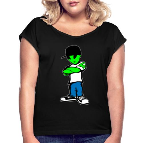 Alien - Women's Roll Cuff T-Shirt