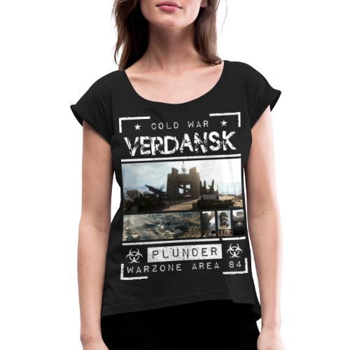Verdansk Plunder - Women's Roll Cuff T-Shirt
