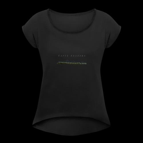Logo 3 - Women's Roll Cuff T-Shirt