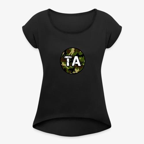 TA Camo - Women's Roll Cuff T-Shirt
