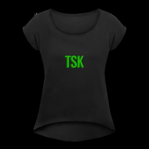 Meget simpel TSK trøje - Women's Roll Cuff T-Shirt