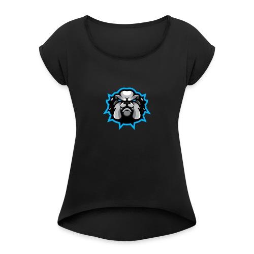 Exodus Stamp - Women's Roll Cuff T-Shirt