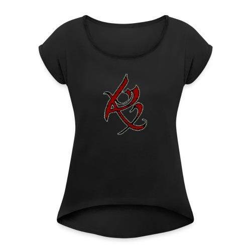 Resurrection Design - Women's Roll Cuff T-Shirt