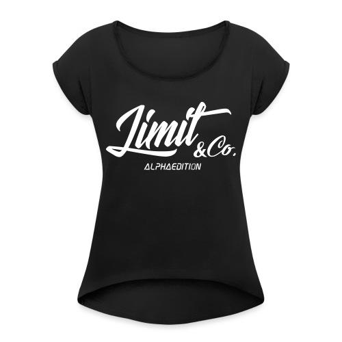 White T-Shirt Alpha Edition 2.0 (Women) - Women's Roll Cuff T-Shirt