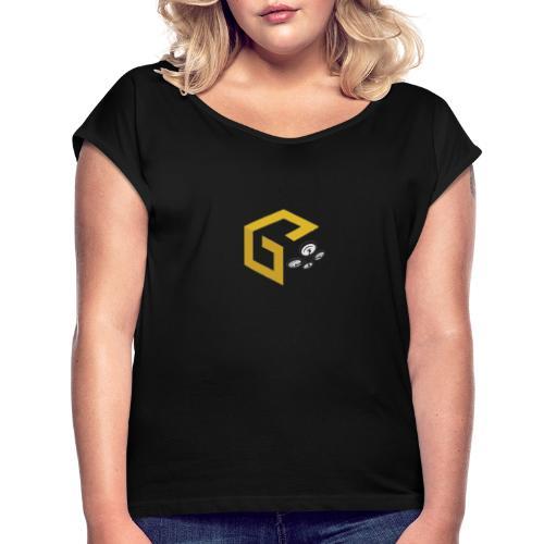 GeoJobe UAV - Women's Roll Cuff T-Shirt