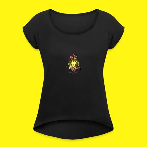 Lion Entertainment - Women's Roll Cuff T-Shirt