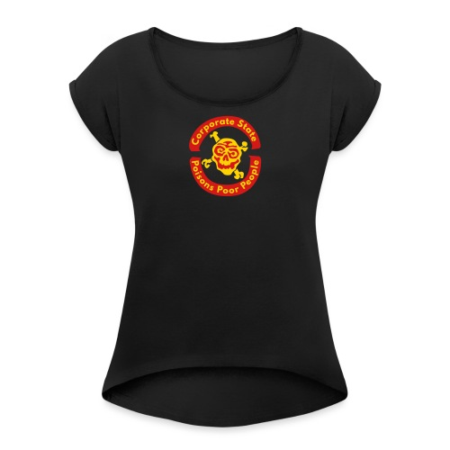 Corporate State - Women's Roll Cuff T-Shirt