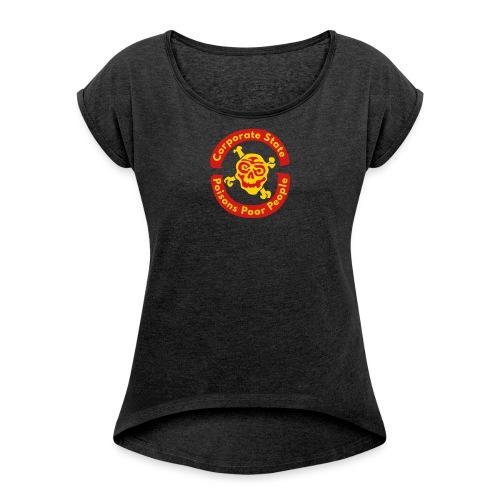 Corporate State - Women's Roll Cuff T-Shirt