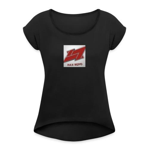 -8A64EFB9634F7332F6FB73085F72D6A399CBC81FB5C50A03C - Women's Roll Cuff T-Shirt