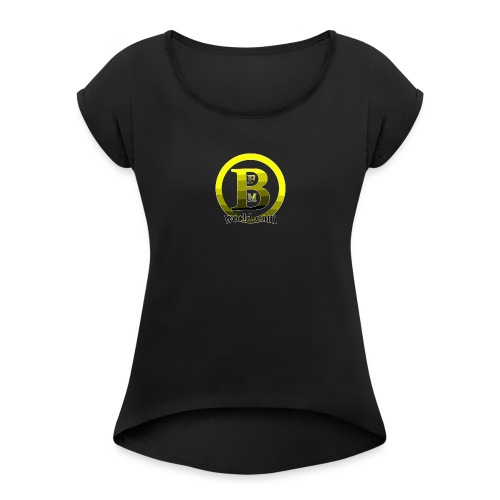 BFMWORLD - Women's Roll Cuff T-Shirt