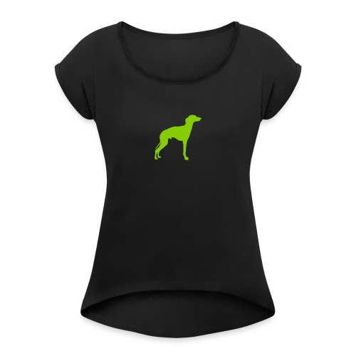 Italian Greyhound - Women's Roll Cuff T-Shirt