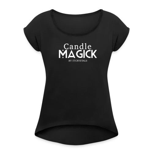ITCRYSTALTSHIRT - Women's Roll Cuff T-Shirt