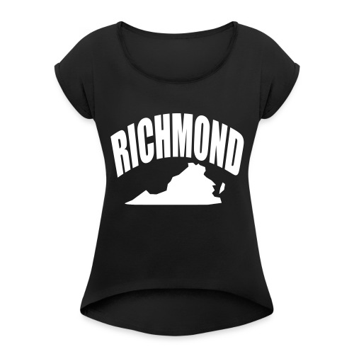 RICHMOND - Women's Roll Cuff T-Shirt
