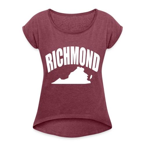 RICHMOND - Women's Roll Cuff T-Shirt