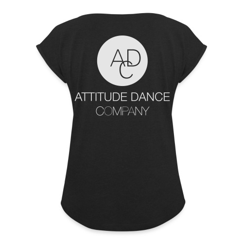 ADC Logo - Women's Roll Cuff T-Shirt