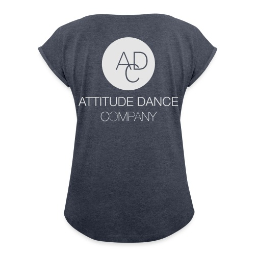 ADC Logo - Women's Roll Cuff T-Shirt