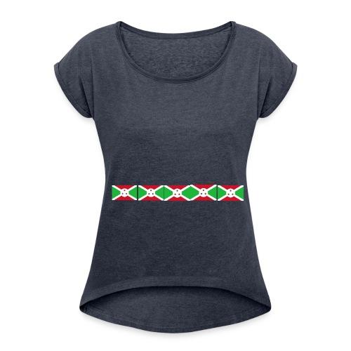 bi png - Women's Roll Cuff T-Shirt
