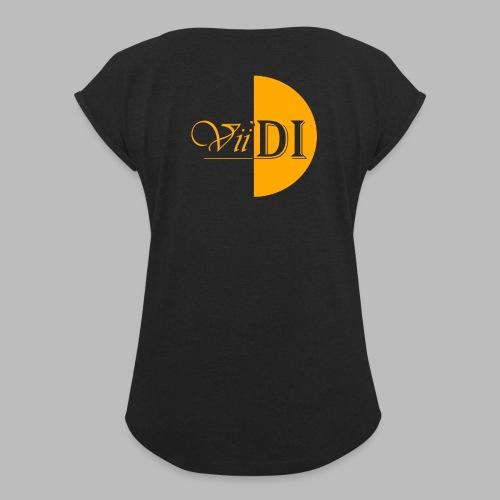 Yellow_Vii'DI - Women's Roll Cuff T-Shirt