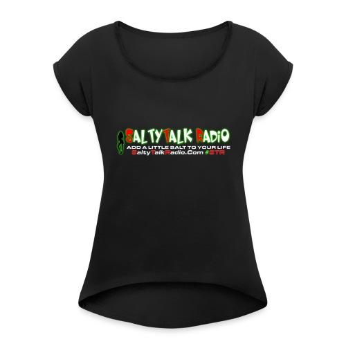 str front png - Women's Roll Cuff T-Shirt