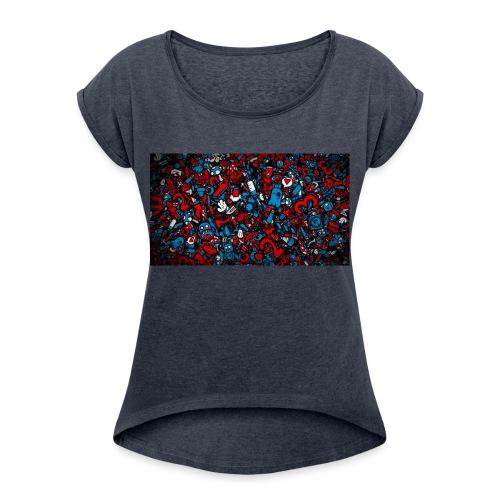 Official Thunder - Women's Roll Cuff T-Shirt