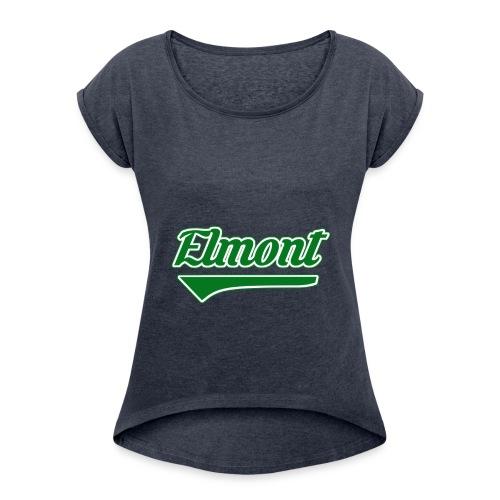 We Are Elmont - 'Community Pride' - Women's Roll Cuff T-Shirt