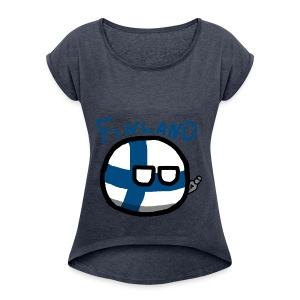 Finlandball - Women's Roll Cuff T-Shirt