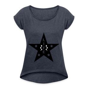 Star of Life - Women's Roll Cuff T-Shirt