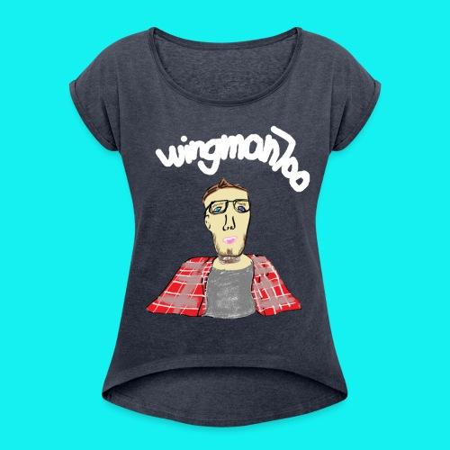 WingStroke - Women's Roll Cuff T-Shirt