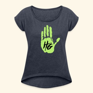 Hand Grown - Women's Roll Cuff T-Shirt