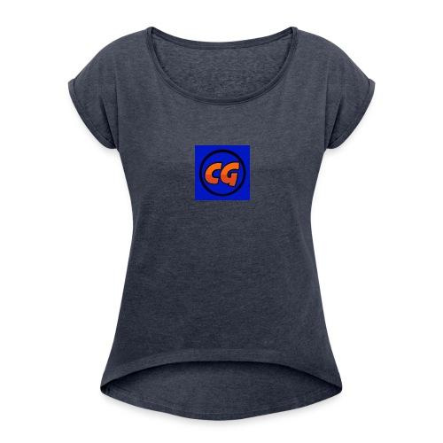 CHR Gaming shirts! - Women's Roll Cuff T-Shirt