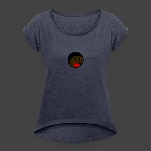 Worst_guild logo - Women's Roll Cuff T-Shirt