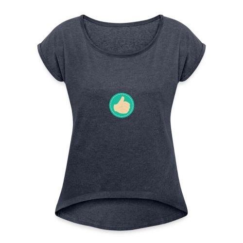 Thumb Up - Women's Roll Cuff T-Shirt